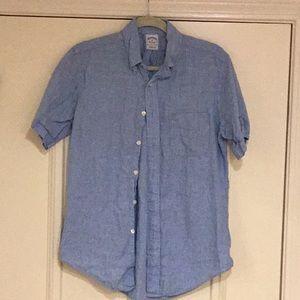 Brooks brothers Irish linen shirt